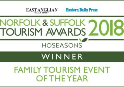 Tourism Awards winner 2018