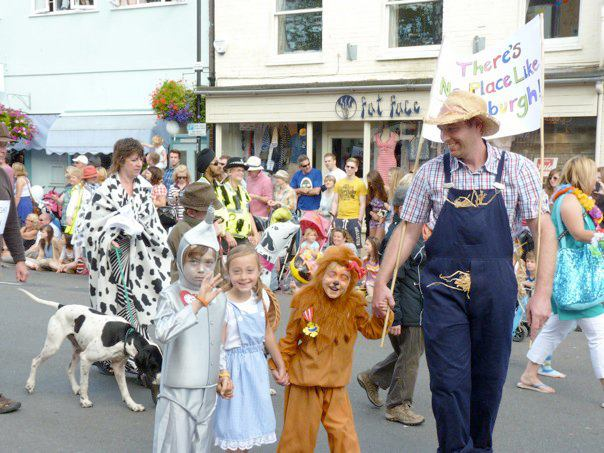 "Aldeburgh Carnival in the running to win the ""UK's Most Popular Carnival"" award!"