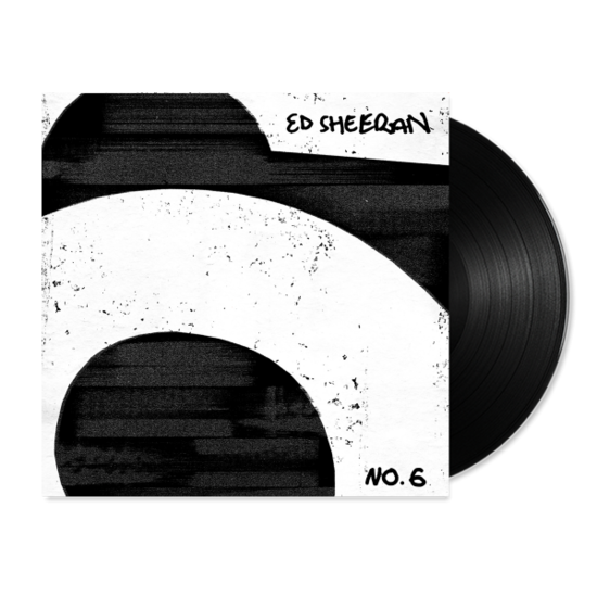 Ed Sheeran signed vinyl