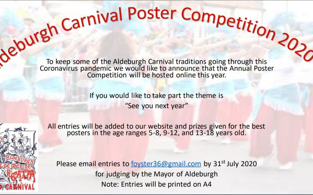 Carnival poster competition – closing date extended