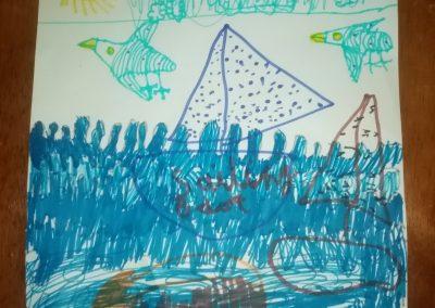Isla Thomas age 6